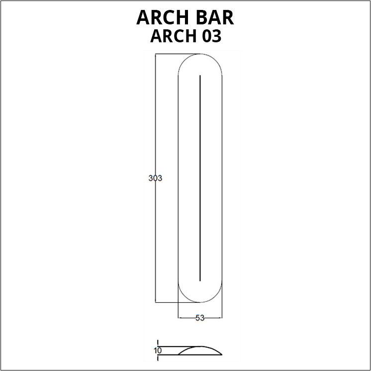 arch bar board