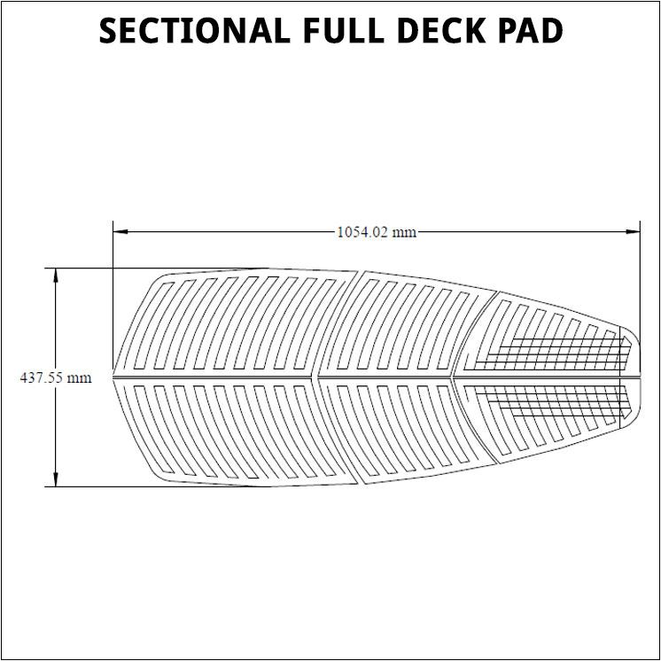 full deck pad
